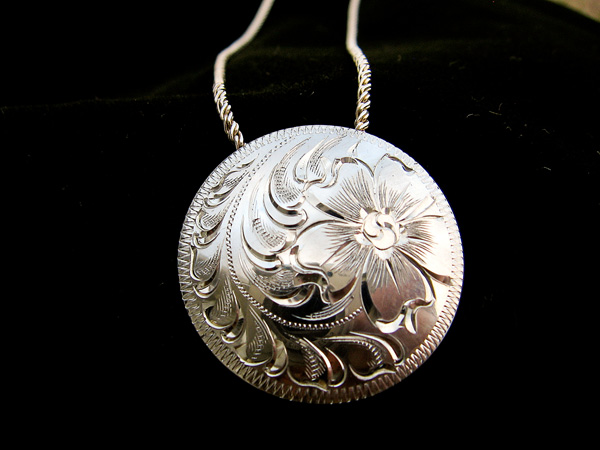 Ken dixon western silver pendants home mozeypictures Image collections